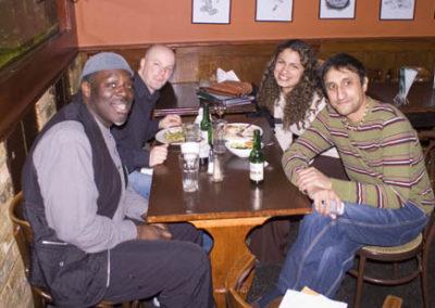 Diane Nalini quartet at 606 Club